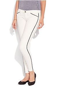 Lucky Brand White Skinny Jean