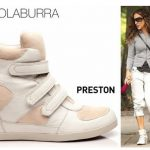 Get SJP's NYC Look with Koolaburra's Preston Sneaker Wedge