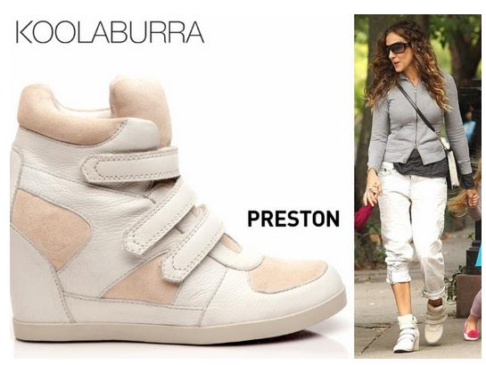 Sarah Jessica parker in Preston sneaker wedge