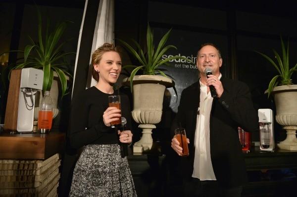 Scarlet Johansson_Daniel Birnbaum Announce SodaStream Partnership- small