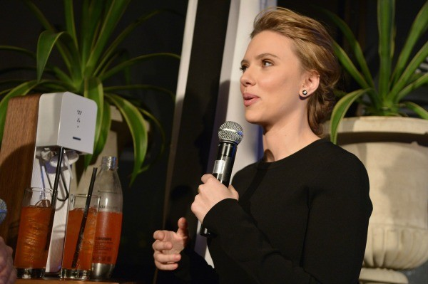 Scarlett Johansson Announces SodaStream Partnership- small