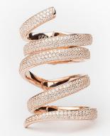 Alexmika Twirl Ring