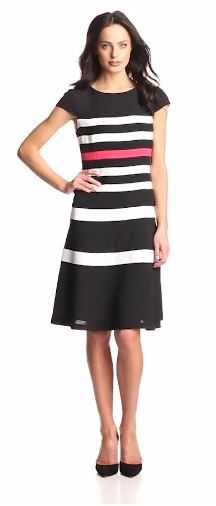 Kick Winter to the Curb With a Bold Dress in Stripes, Color Blocking & More Fun Trends