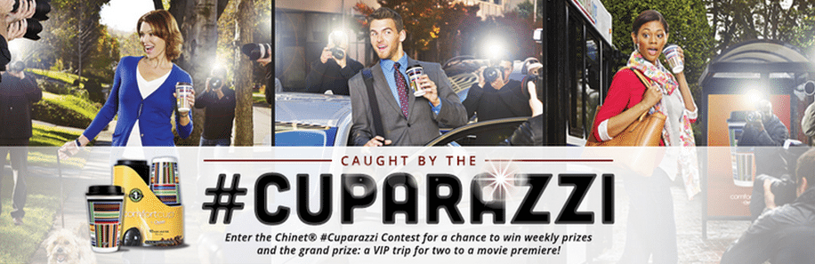 Enter Chinet's #Cuparazzi Contest and Win a VIP Red Carpet Premiere Trip for Two