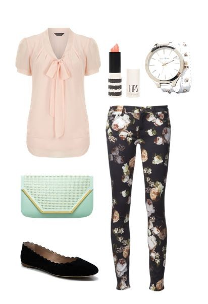 Cute Outfit Ideas Floral 01
