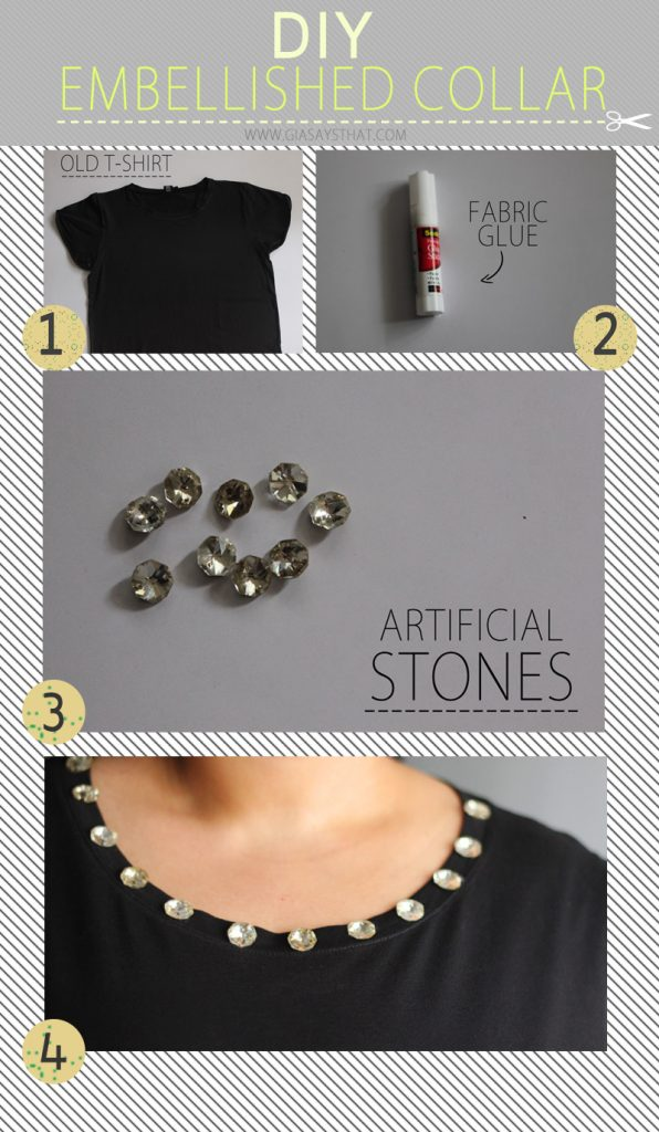 DIY Fashion Embellished Collar