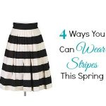 Four Ways You Can Wear Stripes This Spring