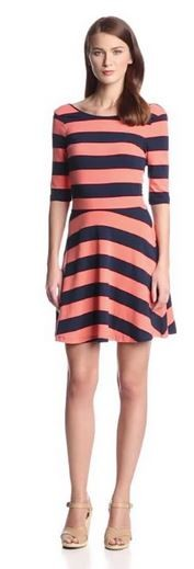 French Connection Women's Funstripe Jersey Dress