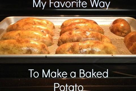 How to Make a Baked Potato