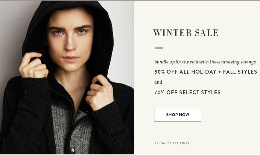 InhabitNY Winter Sale