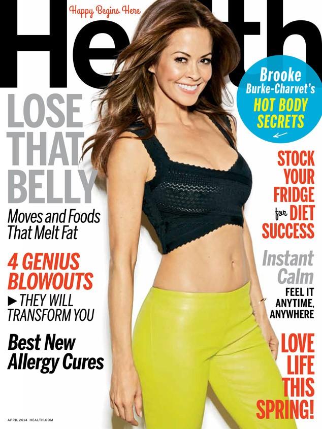 Brooke Burke-Charvet April Health Magazine