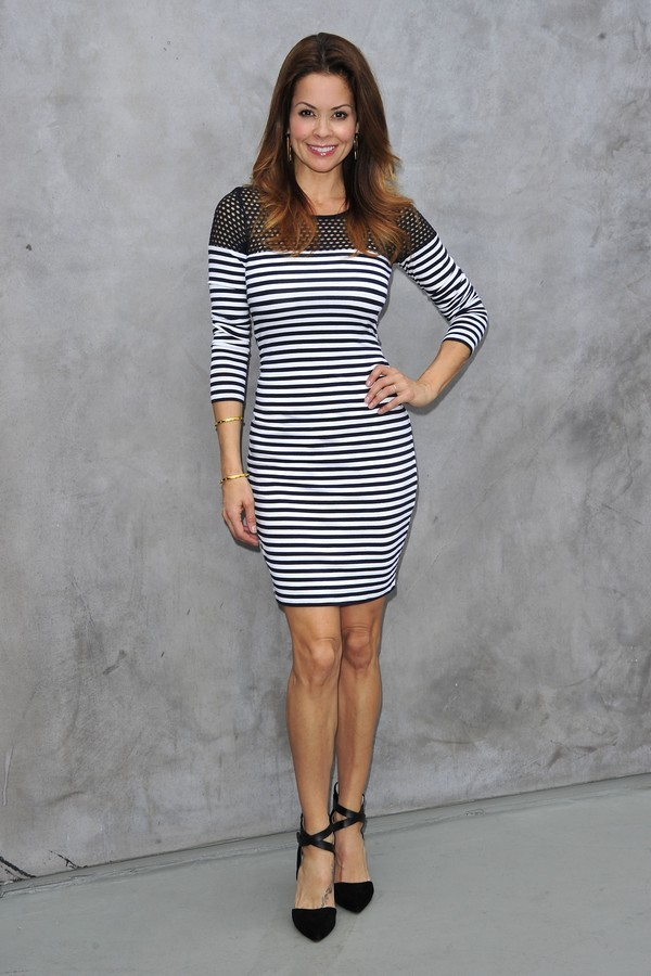 Brooke Burke-Charvet Looking Great In A Bailey44 Dress