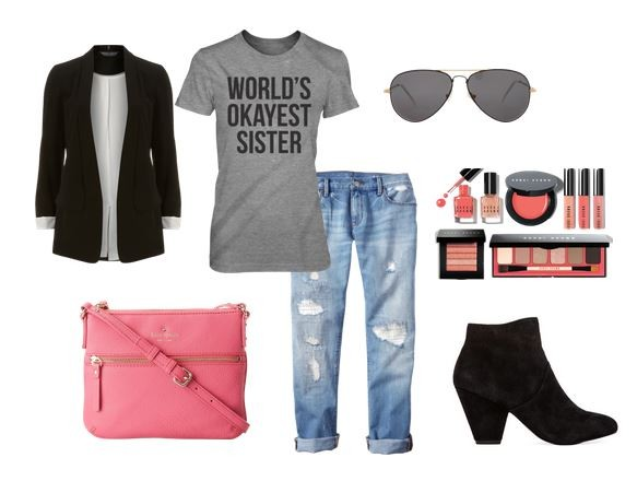 Cute Outfit Ideas of the Week #25 Shirts with Sayings   Mom Fabulous