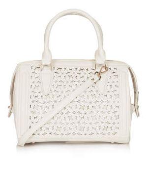 Daisy Lasercut Handbag