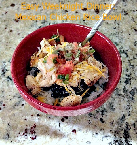 Mexican Chicken Rice Bowl 03