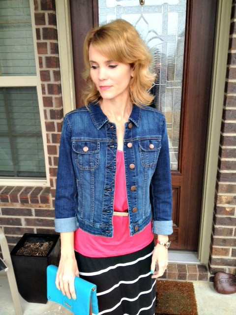 Outfit of the Day Denim Jacket 03
