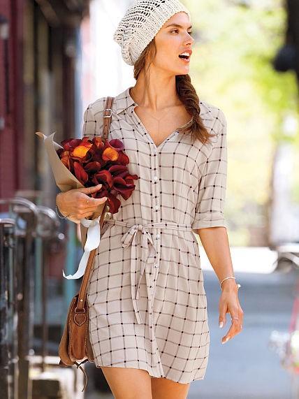 Victoria's Secret Woven Shirtdress
