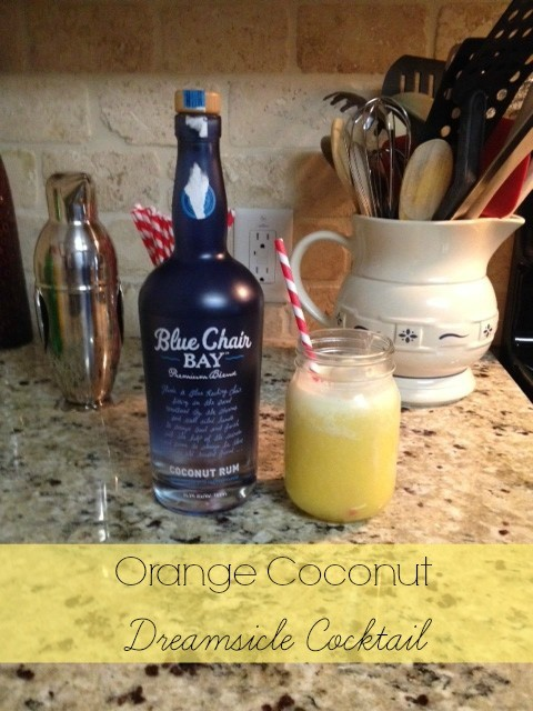 orange coconut dreamsicle cocktail