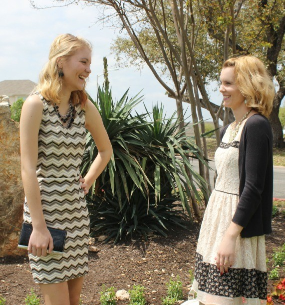 Hannah and Julie Easter Dresses 10