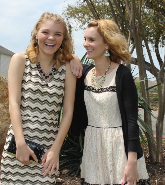 Hannah and Julie Easter Dresses 11