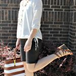 Neutrals + One Outfit, 2 Pairs of Shoes