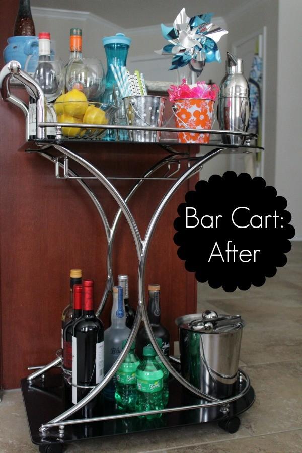 bar cart, bar cart essentials, bar cart styling