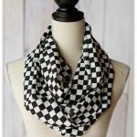 Flash Sale on Black & White Infinity Scarves