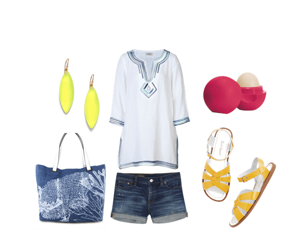 Cute Outfit Ideas, Cute Outfit Ideas of the week, Emilie M ha\andbags, beach bags, chambray bags
