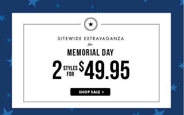 JUstFab Memorial Day Sale, Memorial Day Sales