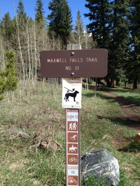 Maxwell Falls Trail Hike 09