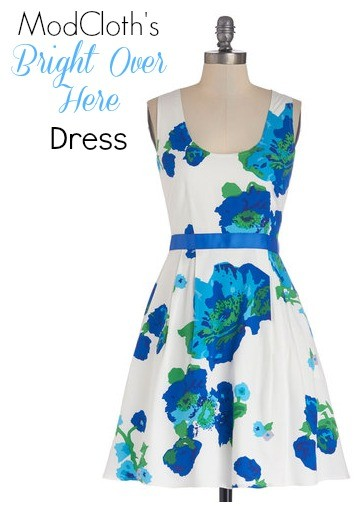 ModCloth Bright Over Here Dress