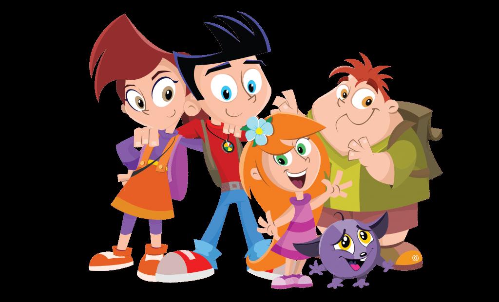 Nutri Ventures Characters - Heroes