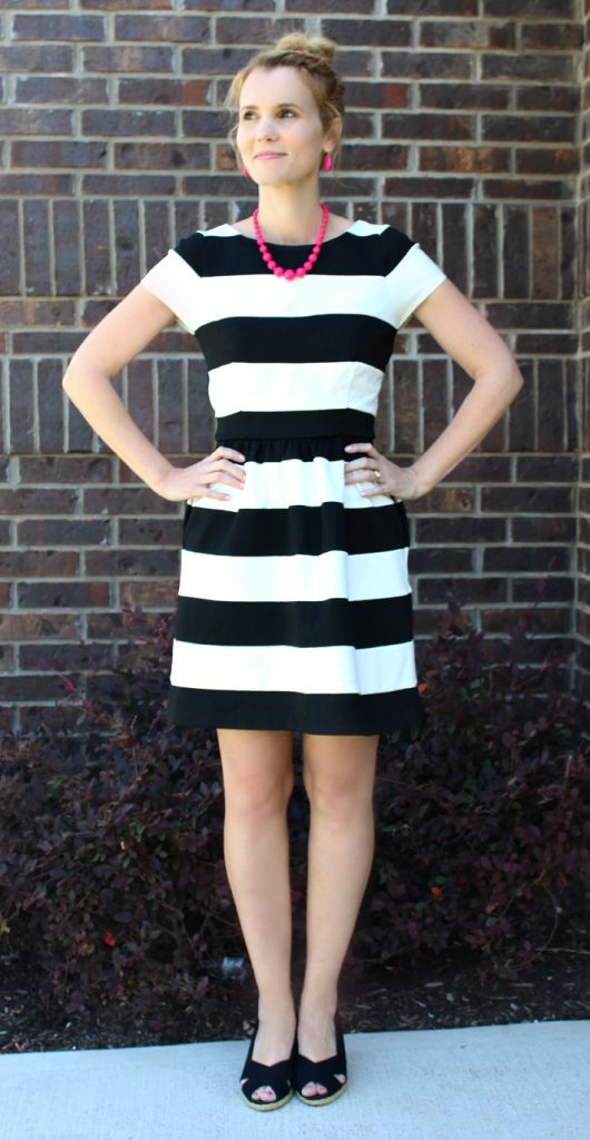 striped dress, whish, whish shave cream, #whish, hair removal