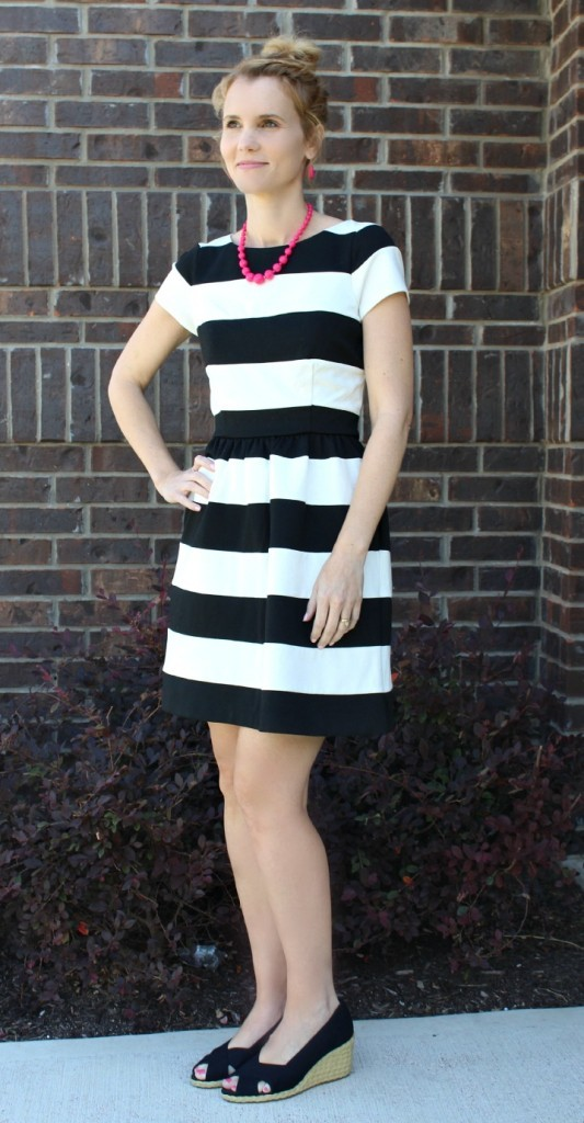 striped dress, whish, whish shaving cream, #which, hair removal
