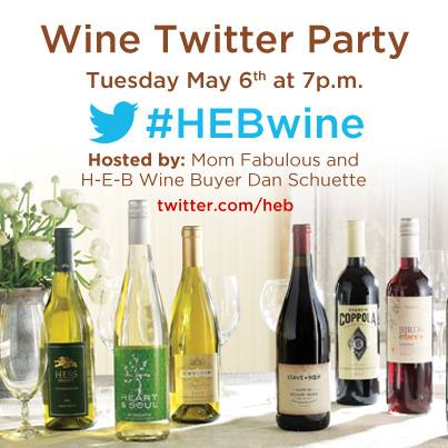 HEB Wine Twitter Party, #HEBWine,
