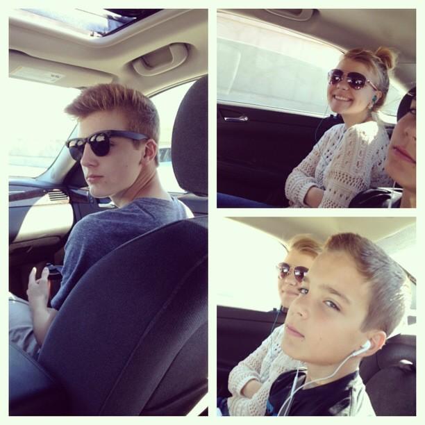 Car ride to Estes Park