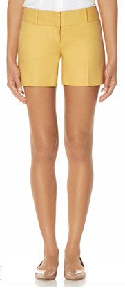 yellow shorts, the limited