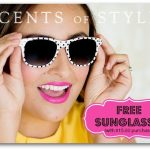 Fashion Friday Sale! Free Sunglasses + 10% Off with Any $15.00 Purchase!
