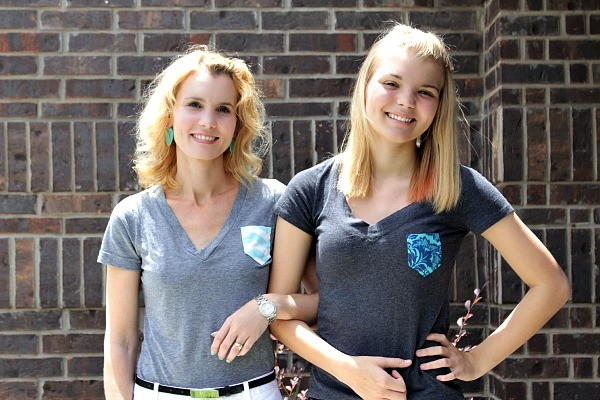 frockets, diy frockets, how to make a frocket, t shirt frockets, sewing a frocket