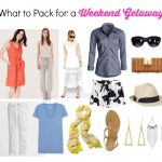 What to Pack for a Weekend Trip; Beachside or Poolside