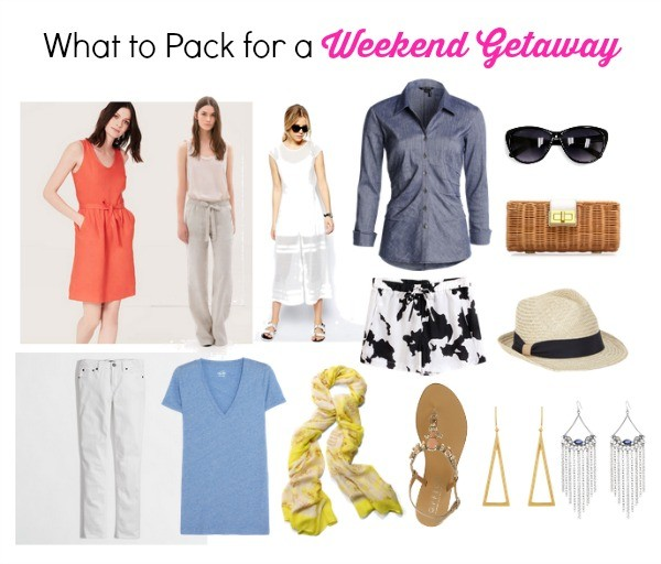what to pack for a weekend getaway, trip packing tips, weekend trip packing tips,