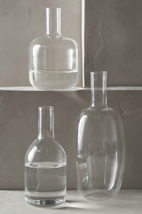 Lost + Found Glass Bottles
