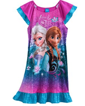 Disney Frozen Anna & Elsa Nightgown