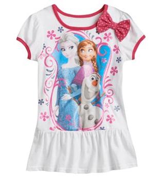 Disney Frozen Elsa, Ana & Olaf Tunic