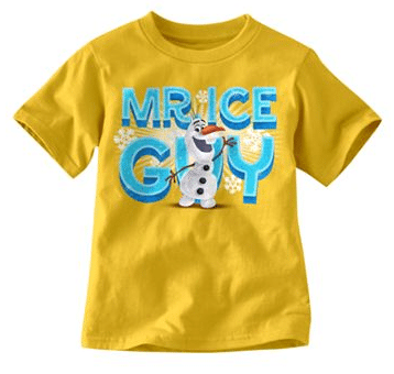 "Disney Frozen Olaf ""Mr. Ice Guy"" Tee"