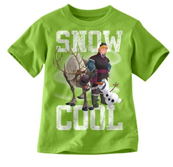 "Disney Frozen Olaf ""Snow Cool"" Tee"