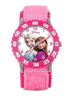Disney Frozen Watch - Kids' Anna & Elsa Time Teacher