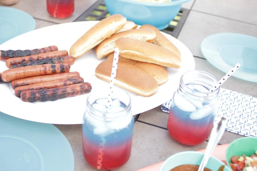 hot dog bar, national hot dog month, national hot dog day, how to set up a hot dog bar