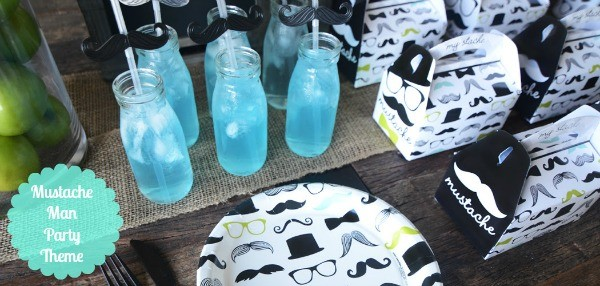 Mustache Man Party Theme
