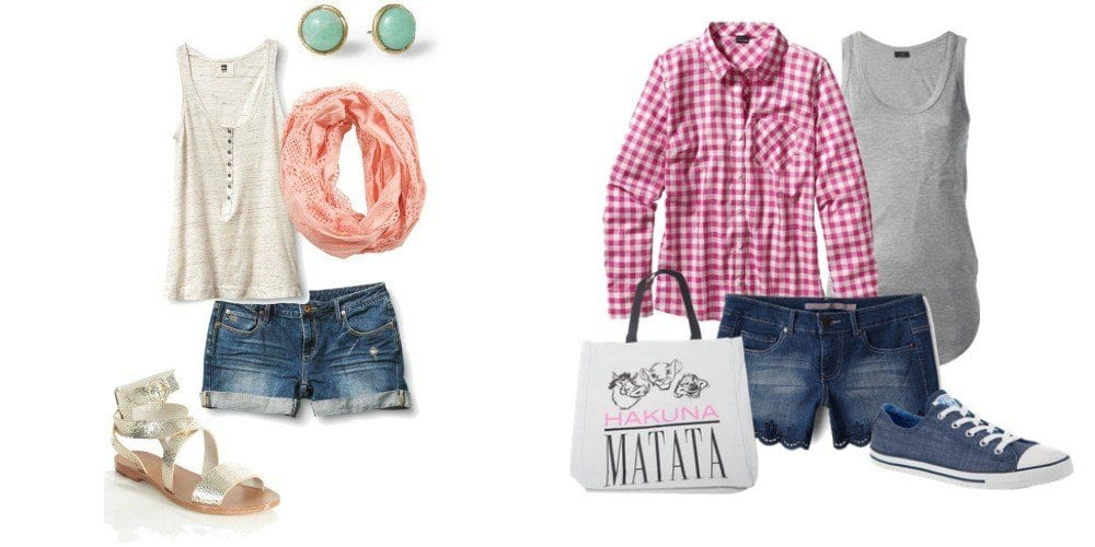 Do you love your denim shorts? Are you looking for new ways to wear them? From dressy to casual, here are some outfit ideas for your summer wardrobe.